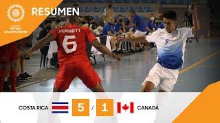 CFC 21: Costa Rica vs Canadá