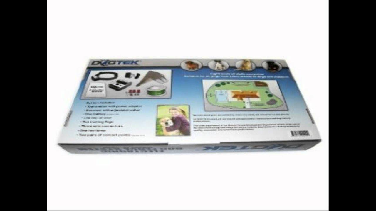 Dogtek Electronic Dog Fence System - YouTube