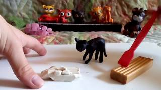 Горелый из пластилина, Коты - Воители.