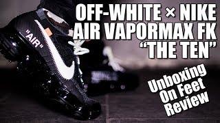 """【New Kicks/スニーカー】OFF-WHITE/VIRGIL ABLOH × NIKE AIR VAPORMAX FK """"THE TEN""""!!"""