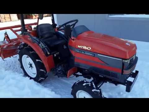 Видео трактора MITSUBISHI MT160