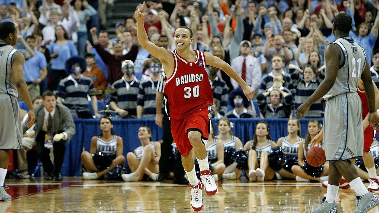 Stephen Curry - 2008 March Madness Full NCAA Tournament Highlights - YouTube