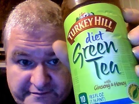 Now the correct review of Turkey Hill Diet Green Tea with Ginseng & Honey (I Screwed Up.....LOL)