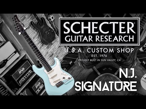 Schecter Nick Johnston Signature-  Review