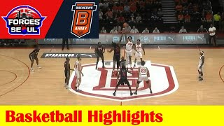 #14 Forces of Seoul vs #3 Boeheim's Army Basketball Game Highlights, 2021 TBT Round 1