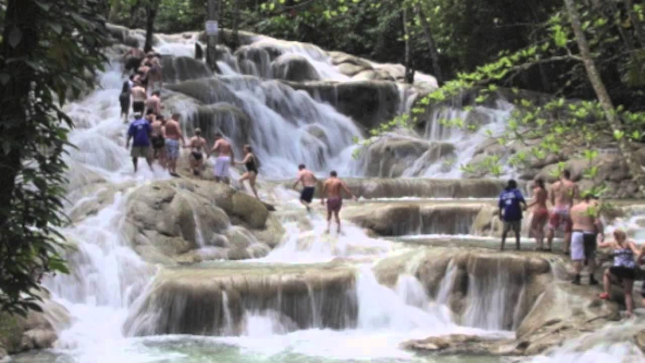 Live Falls Wallpaper Free Download Dunns River Falls Youtube