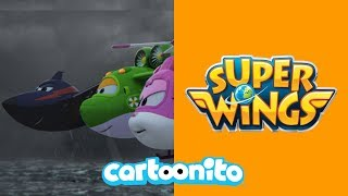 Super Wings | Jett Loses A Package | Cartoonito UK