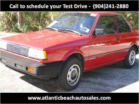 1988 Nissan Sentra available from Atlantic Beach Auto ...