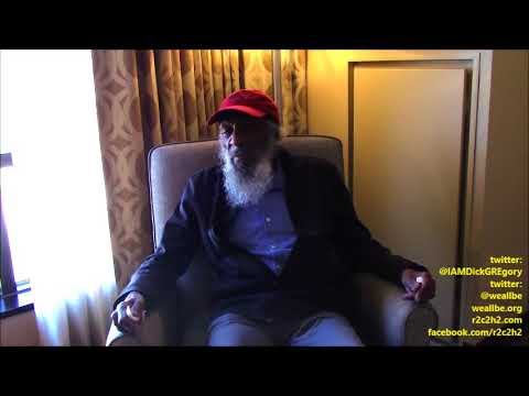 Baba Dick GREgory's Last W.E. A.L.L. B.E. INterview: #MLK49, BEfoRE THE Storm