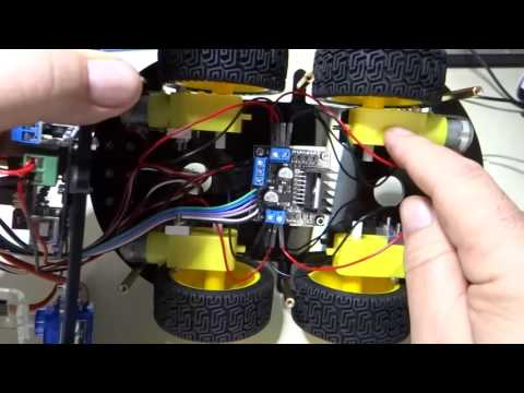 Elegoo SRC kit 29 Lesson 1 right wheel rotation pt 2
