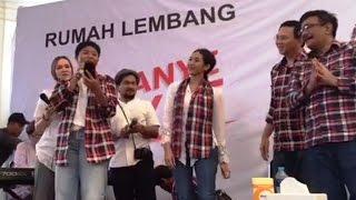 Tompi, Cathy Sharon, & Happy Salma Dukung Ahok