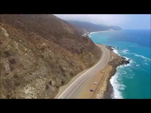 Pt. Mugu Malibu Drone Quadcopter 4k HD video - August 2015