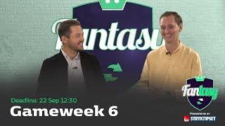 FanTV Fantasy S02: Gameweek 6
