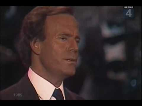 Julio Iglesias - The 1st performance in the USSR (1989)