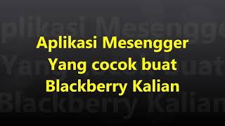 Gambar cover Aplikasi Facebook Messenger di BlackBerry !!!
