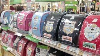 กระเป๋านักเรียนญี่ปุ่นกลายเป็นของที่ระลึกยอดฮิต - Springnews