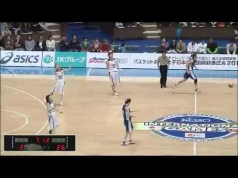 女子バスケ 日本 vs スロバキア 第3戦