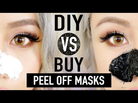 Thumbnail: DIY Peel Off Mask To Remove Blackheads ✦ DIY vs. BUY Comparison ?? ♥ Wengie