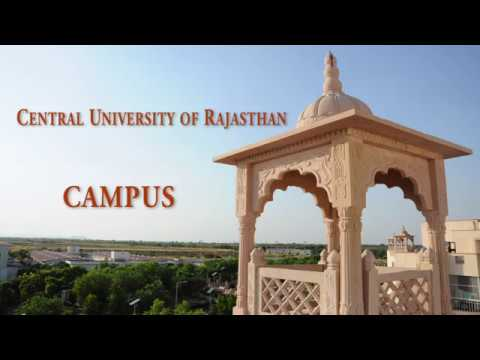Central University of Rajasthan - Campus | #CURAJ | [mjt]