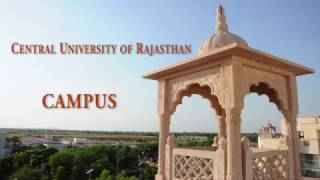 Central University of Rajasthan - Campus | #CURAJ | [mjt]