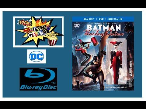 Unboxing batman and harley quinn blu ray y DVD streaming vf