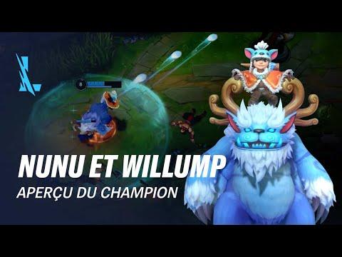 Aperçu de Nunu et Willump | Gameplay - League of Legends: Wild Rift