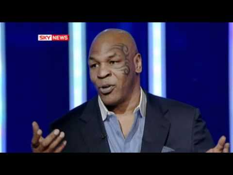 mike tyson calmly puts reporter in check.wmv