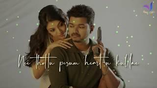 Alaikka Laikka 💕 Thuppakki 💕 Love Folk Song 💕 Whatsapp Status Tamil Video