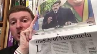 وول ستريت جورنال يعترف الاشتراكية لم تخلق فنزويلا الأزمة