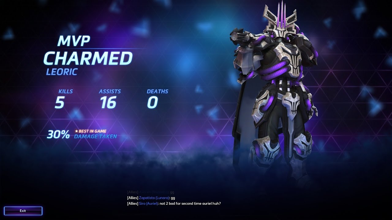 Heroes of the storm with charmed my professional blue - Heroes of the storm space lord leoric ...