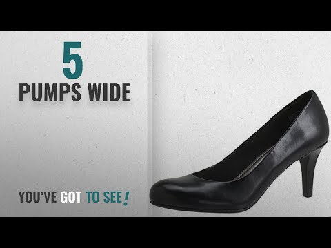 cf3e9dff5 Top 5 Pumps Wide [2018]: Comfort Plus by Predictions Women's Karmen Pump 8  Wide Black - YouTube