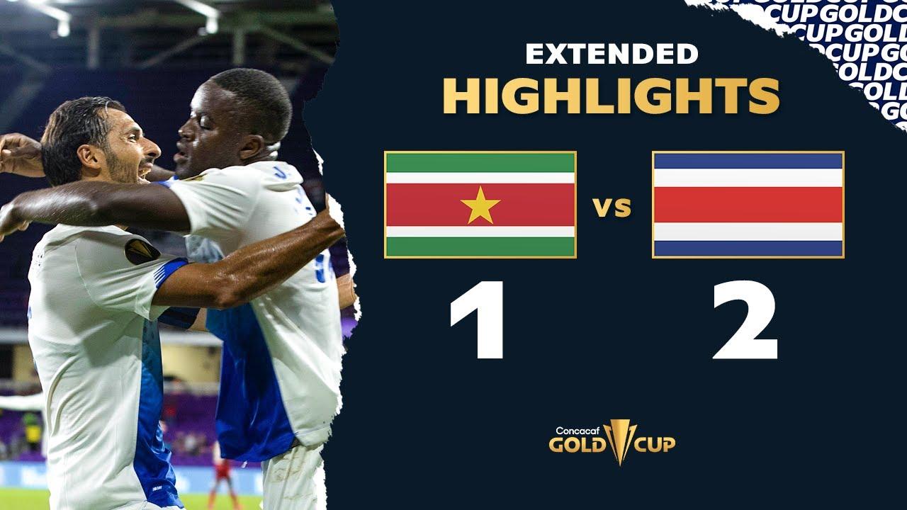 Recap: Suriname 1, Costa Rica 2