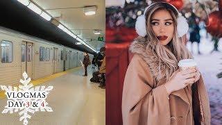 LASHES & MARKETS | Vlogmas Day 3 & 4 in Toronto