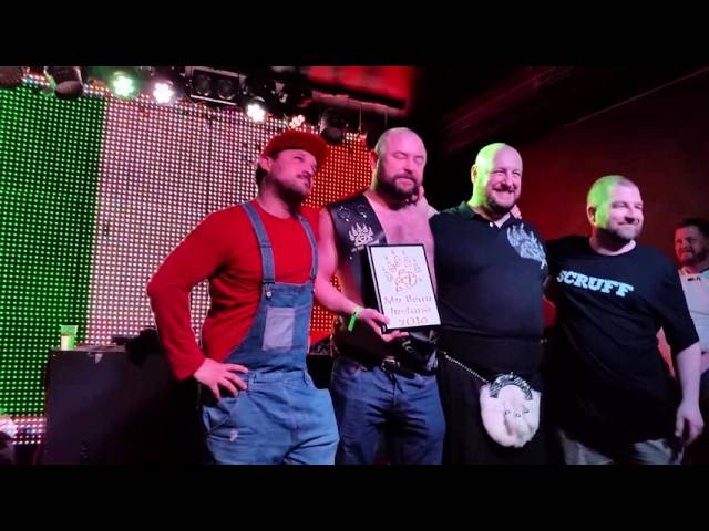 Mr Bear Ireland 2016 - The Winner is announced.