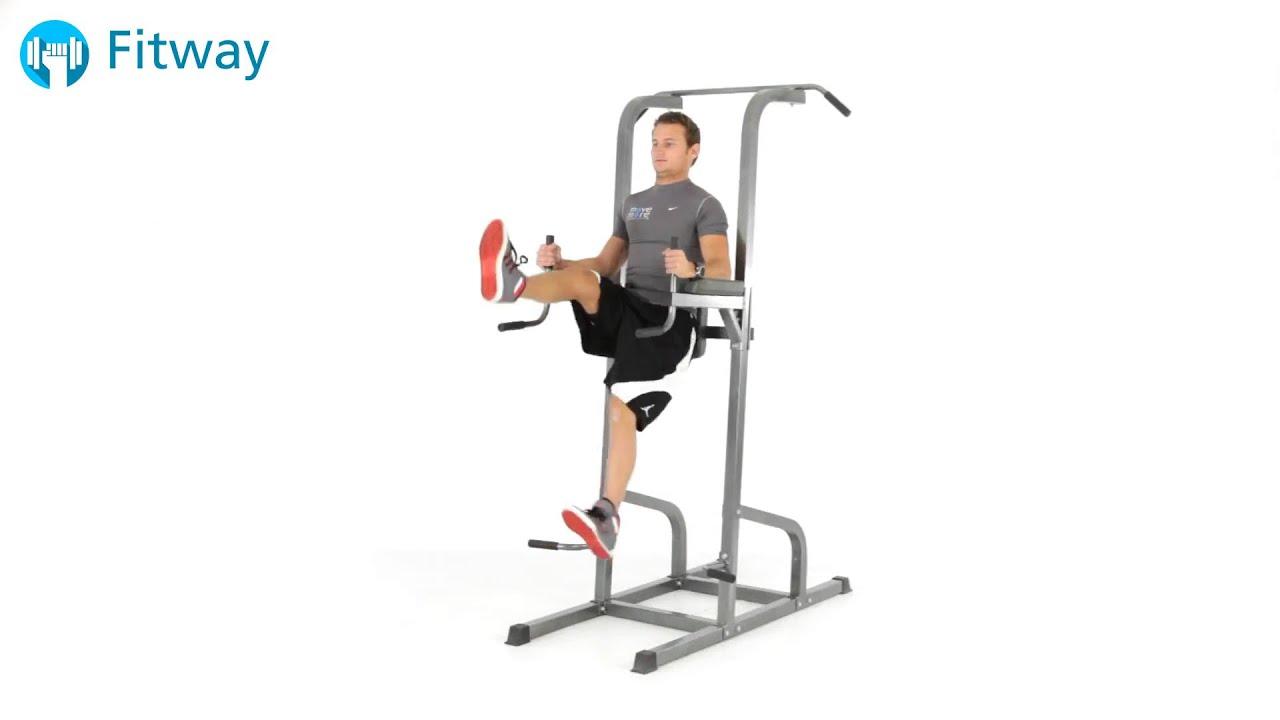 Captains chair leg raise - How To Do Bodyweight Leg Raise Scissor Kick Ab Workout Exercise