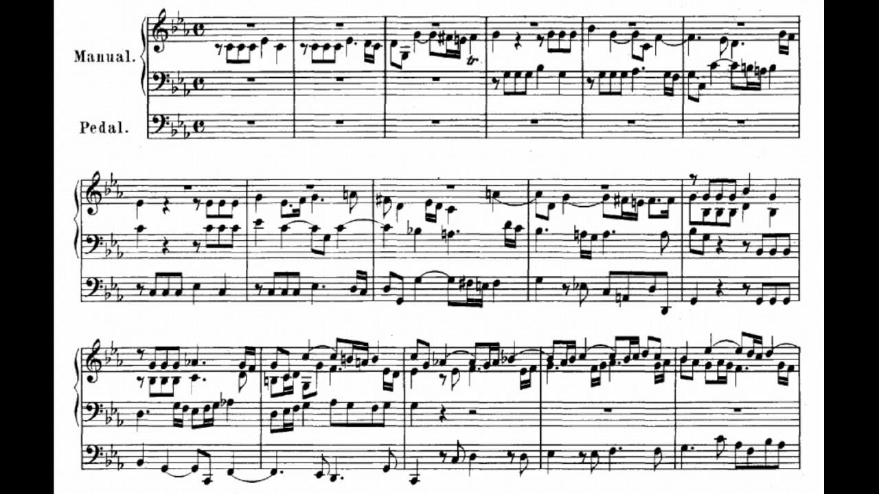 Fugue c minor BWV 574 - Organ