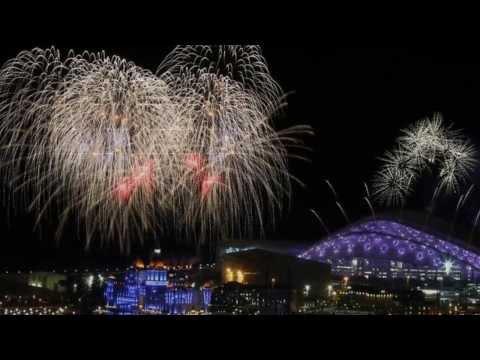 Sochi Winter Games 2014-Sky In Opening Ceremony
