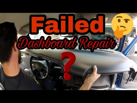 Cracked Dashboard Repair -Gmc Chevrolet Flipping A Silverado Ls Episode 6