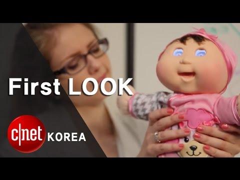 """""""가짜는 진짜를 이기지 못해"""" 양배추인형과 진짜 아기 비교 실험,  Cabbage Patch Kids Baby So Real doll vs a real baby"""