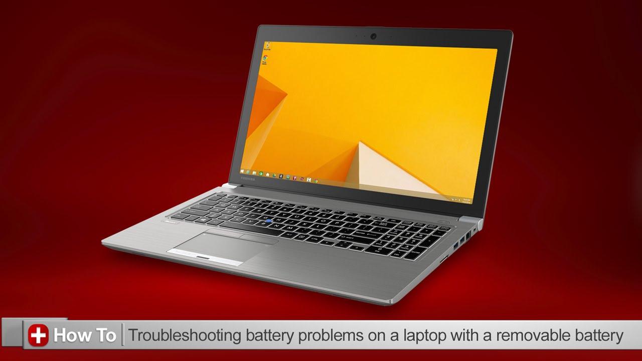 toshiba how to troubleshooting battery issues on a toshiba laptop rh youtube com Toshiba Laptops Windows 7 Old Toshiba Laptop