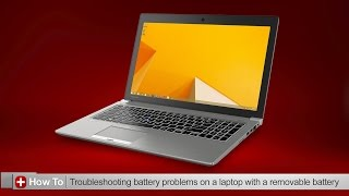 Toshiba How-To: Troubleshooting battery issues on a Toshiba laptop that has a removable battery