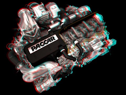 Diesel engine - real time interactive 3D simulation (i3D S.A.)