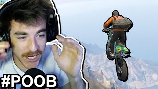 Can you bike down GTA's Mountain, using ONLY your voice? (#POOB)