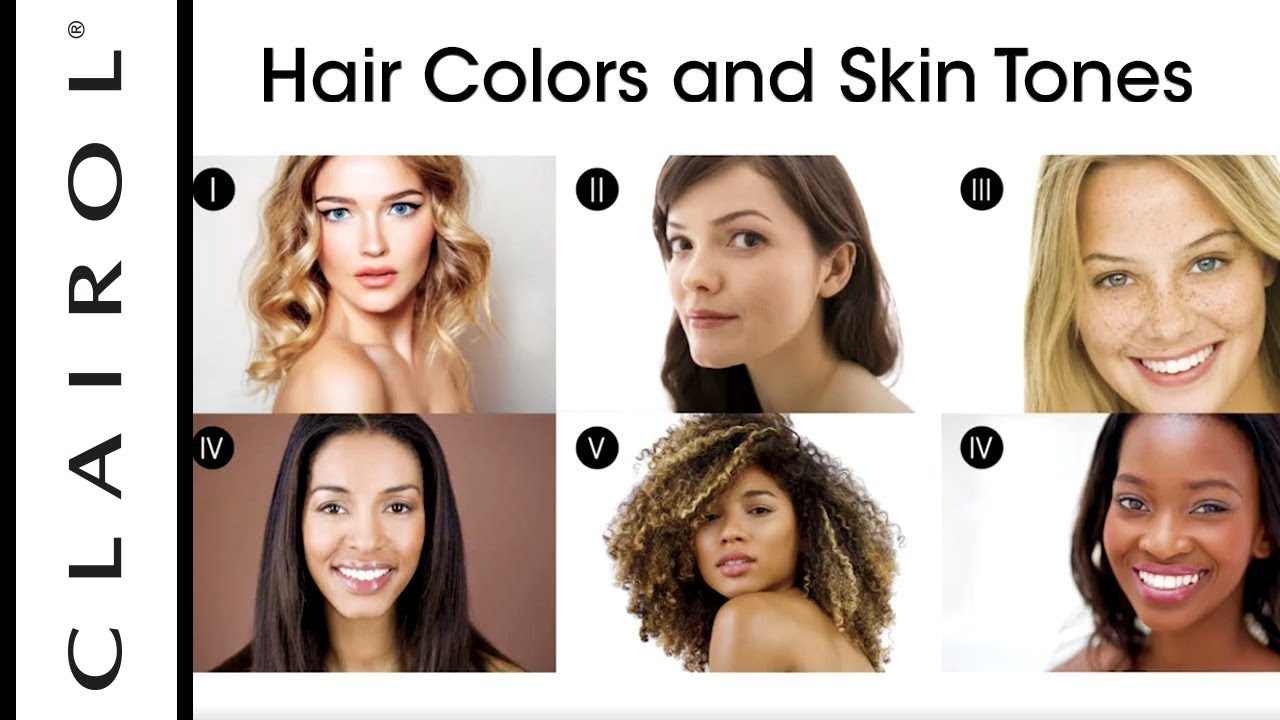 How To Find The Best Hair Color For Your Skin Tone Clairol Youtube