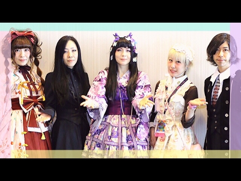 Lolita Tea Party USA ♡A Fashionable World Tea Party ♡ WITH Japanese Fashion Designers and Models