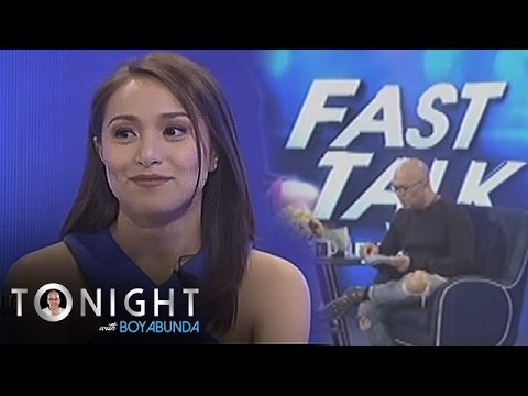 TWBA: Fast Talk with Cristine Reyes