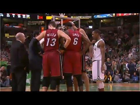 NBA Joining the Wrong Huddle (Eavesdropping)