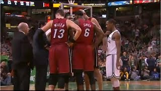 NBA Joining the Wrong Huddle (Eavesdropping)