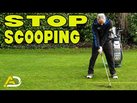 How To Stop Scooping At Impact (Golf Swing Tip)