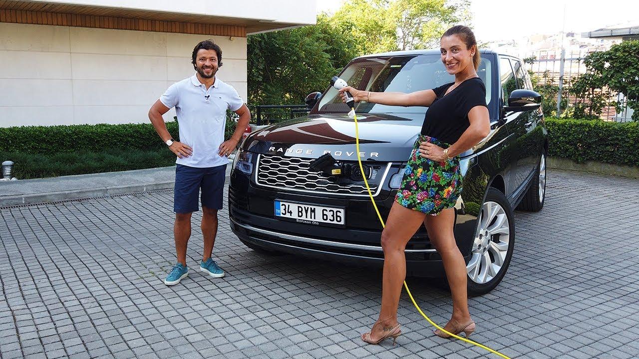 Range Rover PHEV - 1.7 milyon TL'lik SUV'dan elektrik alabildik mi? Vlog#77